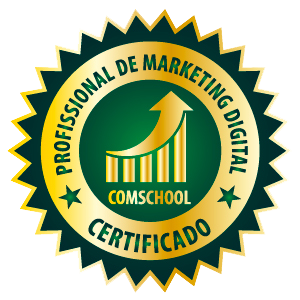 Selo Gold Profissional de Marketing Digital